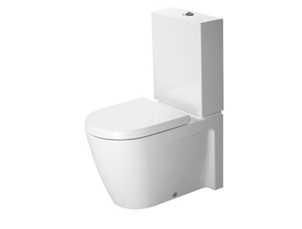 Duravit starck 2 vaso monoblocco a terra therapy 4 home for Duravit starck
