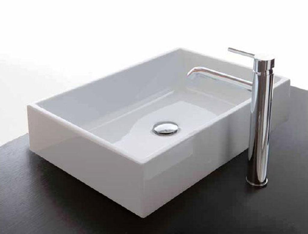 Ceramica galassia plus design lavabo d 39 appoggio for Galassia ceramica