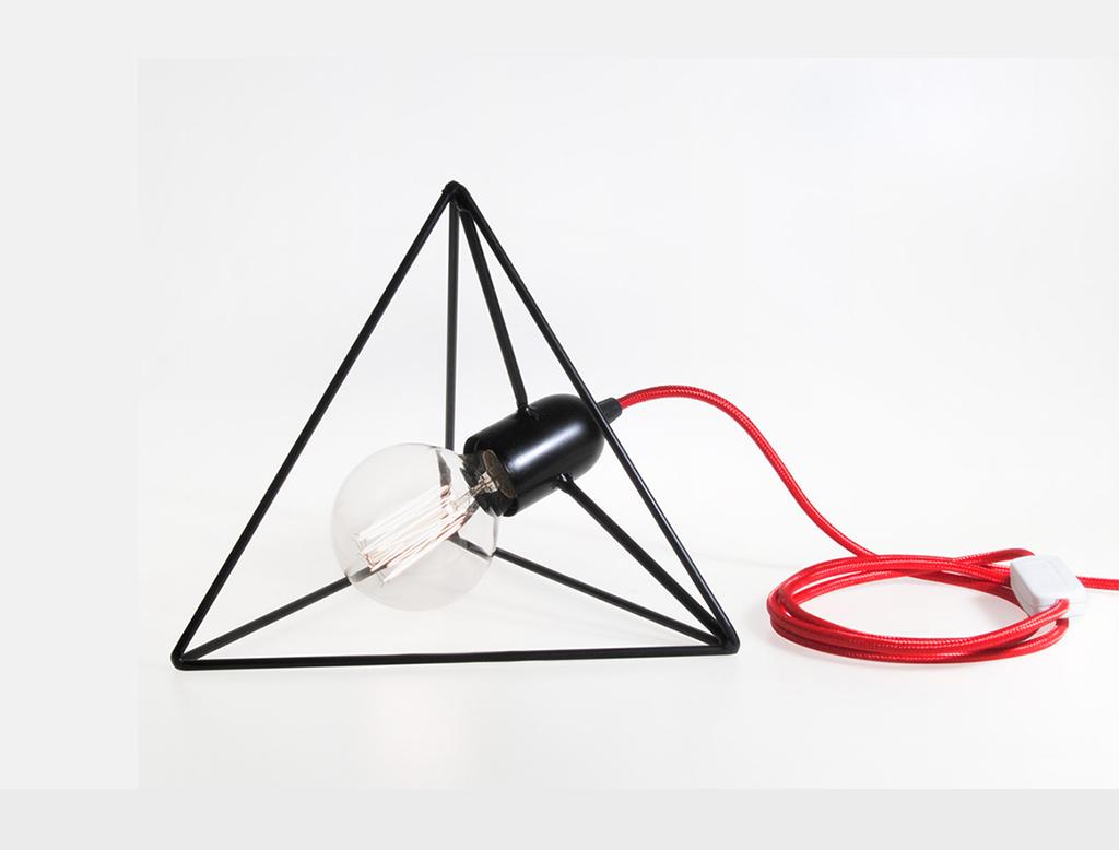 BIGDESIGN Platonic Series Fuoco-Tetraedro Lampada da ...