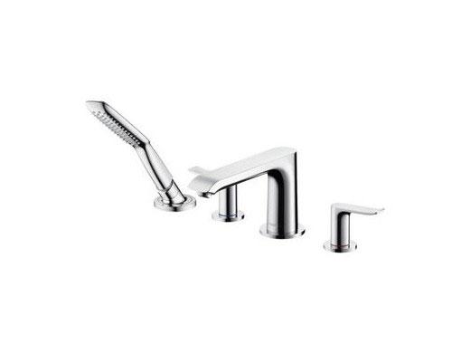 Hansgrohe metris rubinetteria 4 fori per bordo vasca - Rubinetteria hansgrohe bagno ...