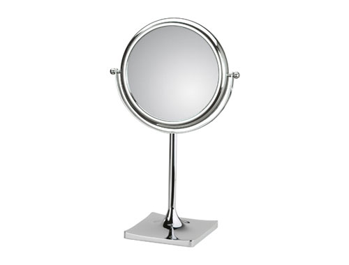 Koh i noor doppiolino specchio ingranditore tondo da appoggio for Specchio bagno koh i noor