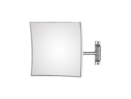 Specchio Ingranditore Per Bagno.Koh I Noor Quadrolo Specchio Ingranditore Quadrato A Parete Braccio Singolo