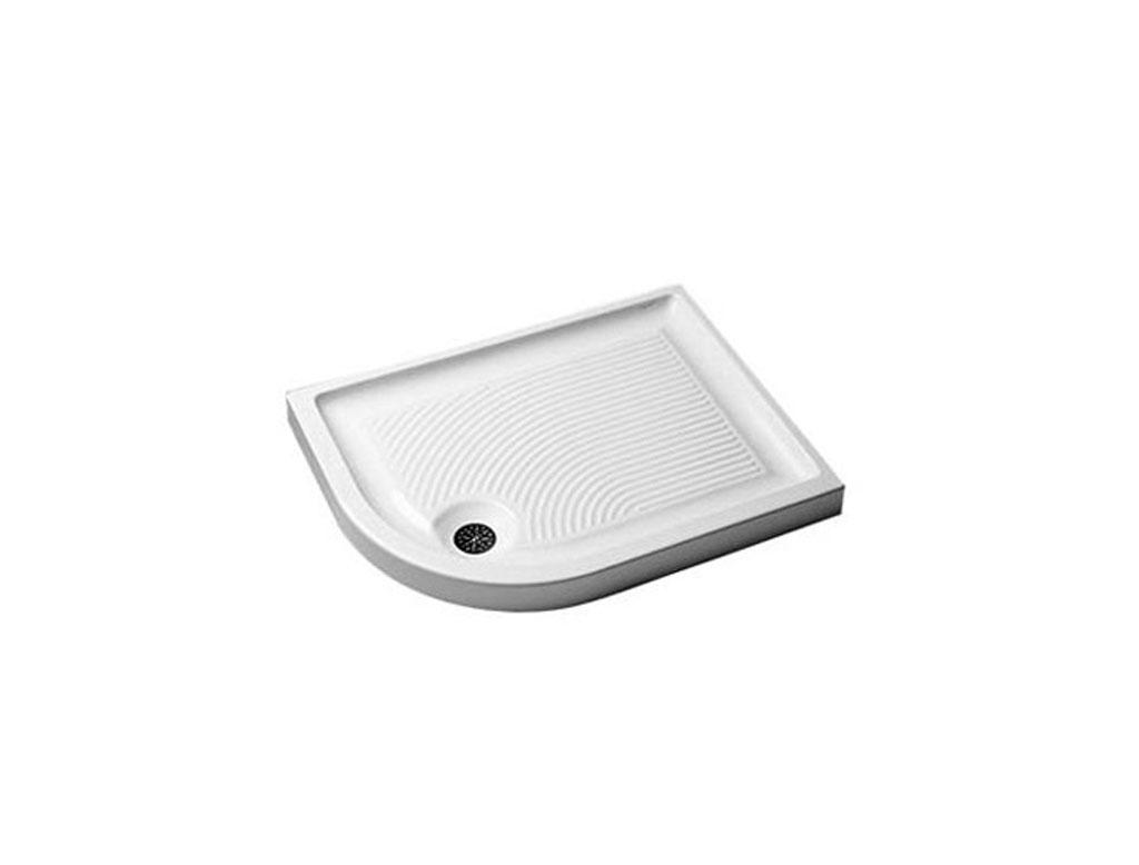 Vasche Da Bagno Angolari Dolomite : Ceramica dolomite swim piatto doccia angolo tondo therapy home