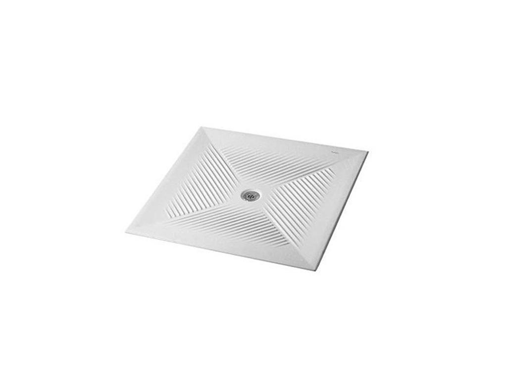 Ceramica dolomite vela piatto doccia quadrato therapy 4 home - Piatto doccia per esterno ...