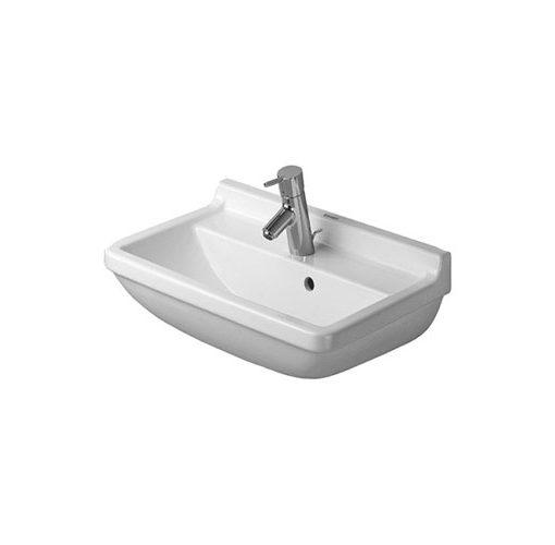 duravit starck 3 lavabo compact sospeso rettangolare. Black Bedroom Furniture Sets. Home Design Ideas