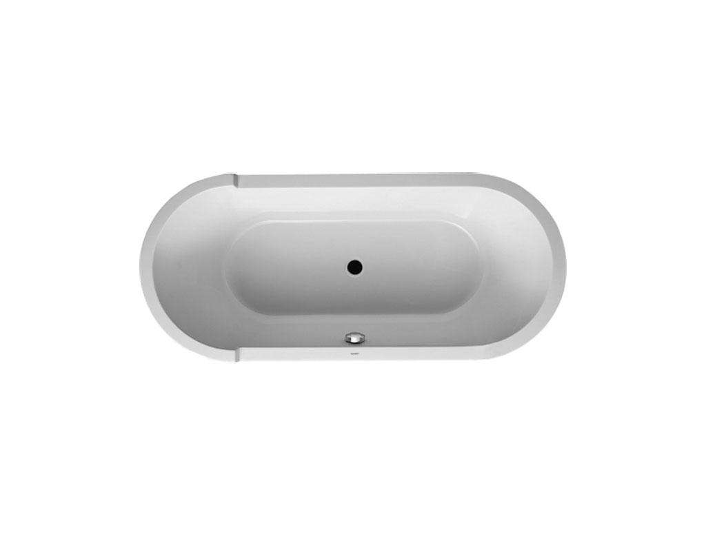 Duravit starck vasca ovale da incasso l180 therapy 4 home - Vasca da bagno duravit ...