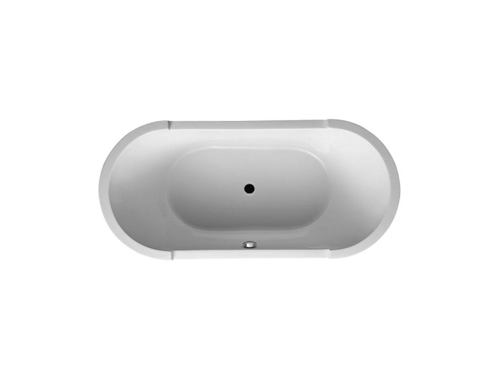 Duravit starck vasca ovale freestanding l190 therapy 4 home - Vasca da bagno duravit ...