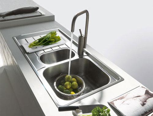 Franke neptune lavello vasca singola con gocciolatoio - Rubinetti per cucina franke ...
