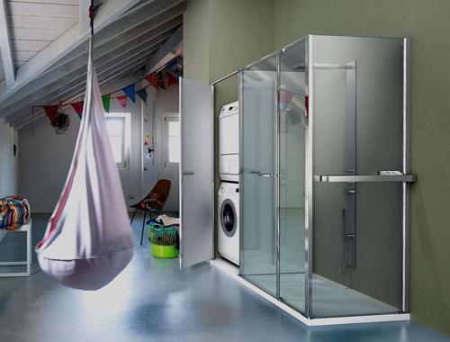 Vismaravetro Box Doccia Prezzi.Vismaravetro Twin Cabina Doccia Con Contenitore Therapy 4 Home