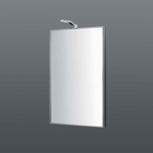 Colombo design specchio verticale con cornice in acciaio - Specchio verticale ...