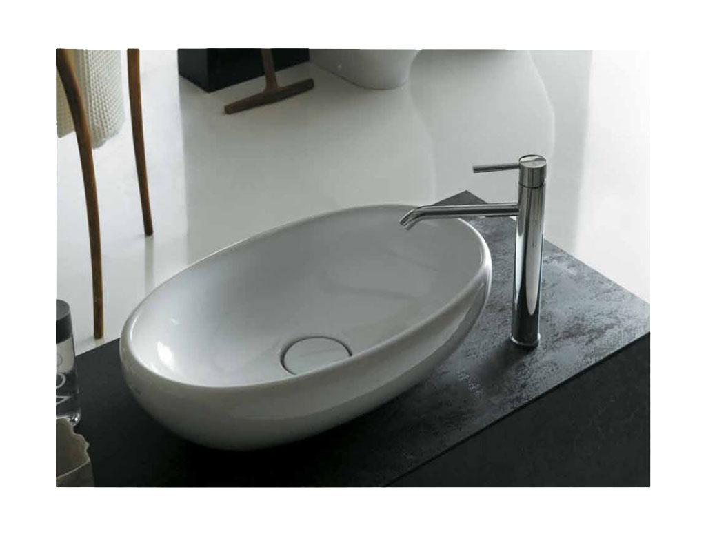 Vasca Da Bagno Galassia : Ceramica galassia ergo lavabo da appoggio ovale therapy 4 home