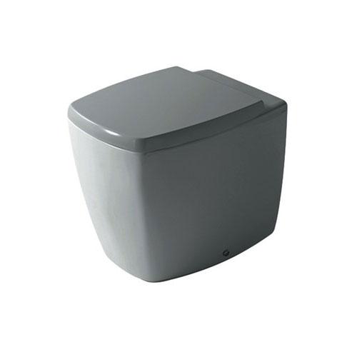 Midas Vaso a Terra Squadrato grigio grigio