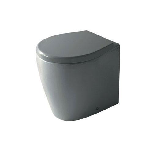 Midas Vaso a Terra Tondo grigio grigio