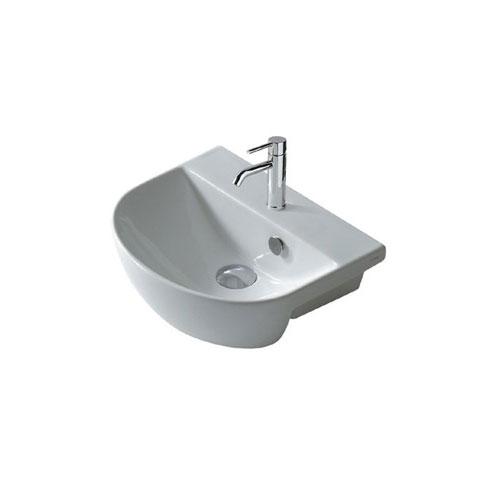 Ceramica galassia m2 lavabo semincasso rettificato for Galassia ceramica
