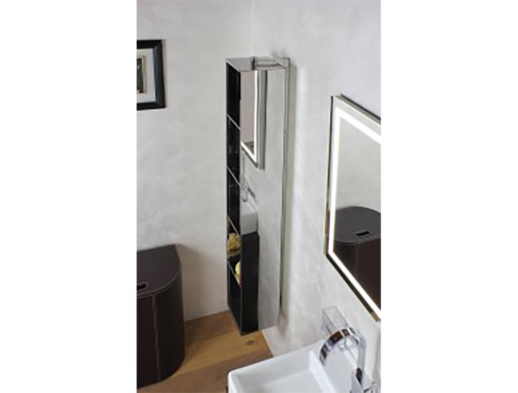 Koh i noor ambrogio specchio contenitore girevole therapy4home for Specchio bagno koh i noor