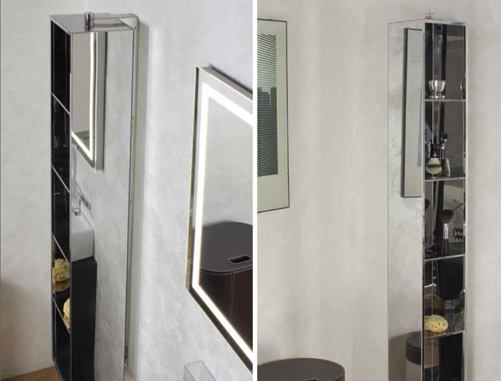 KOH-I-NOOR Ambrogio Specchio contenitore girevole|Therapy4home