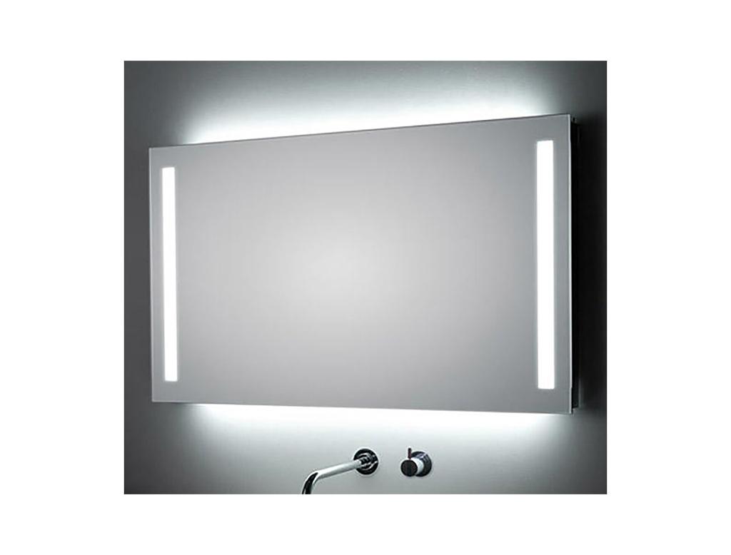 Koh i noor duo specchio con retro illuminazione per for Specchio bagno koh i noor