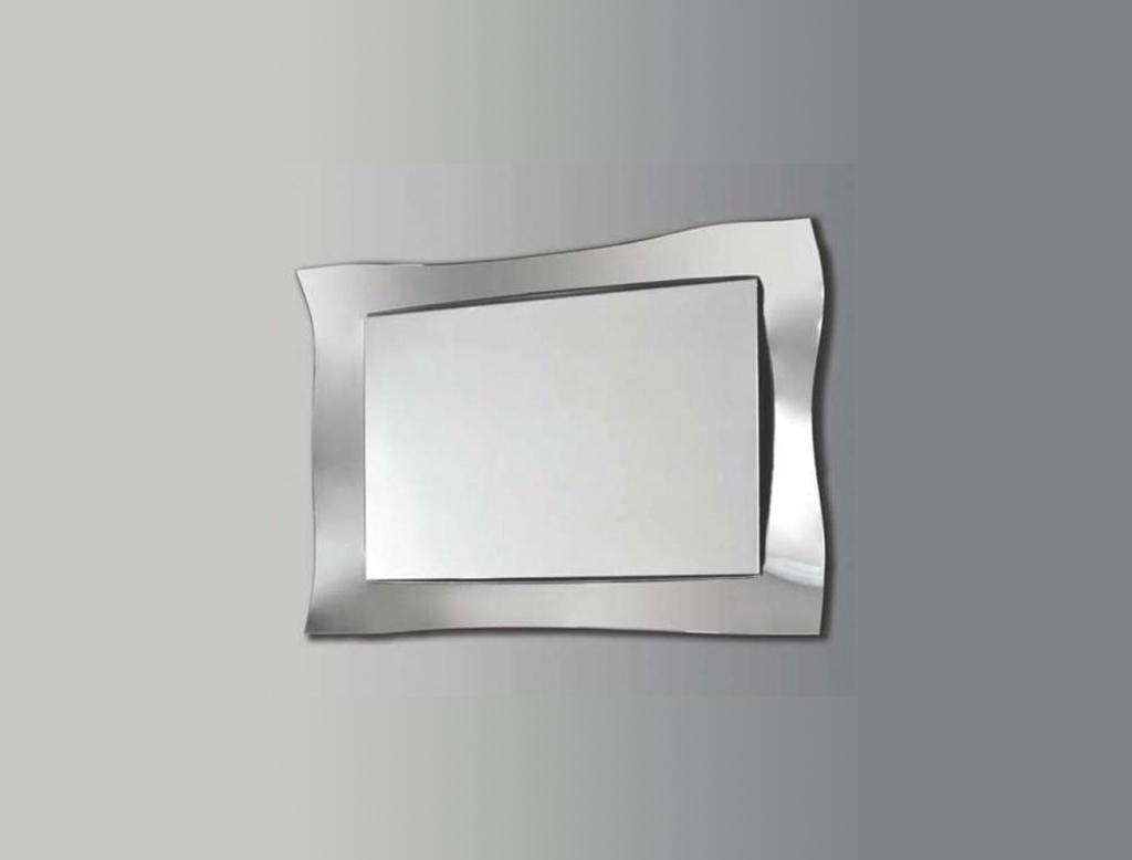 Koh i noor onda specchiera con cornice in specchio curvato for Specchio bagno koh i noor