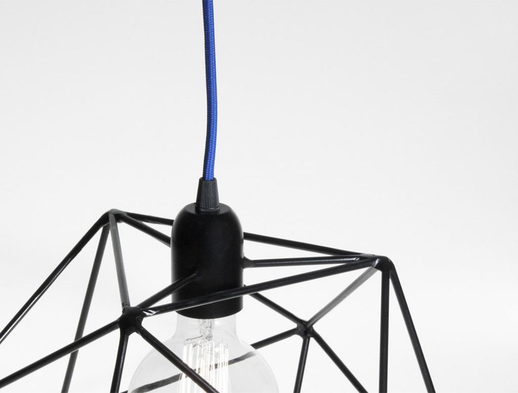 Bigdesign platonic series acqua icosaedro lampada a sospensione