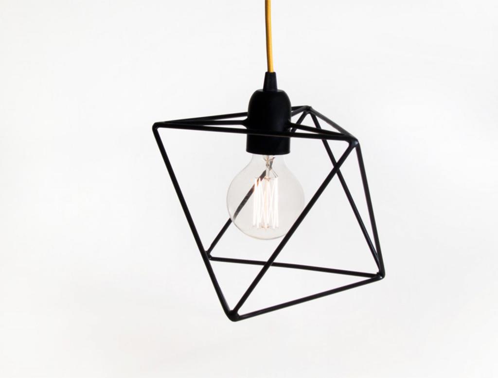 Bigdesign platonic series aria ottaedro lampada a sospensione
