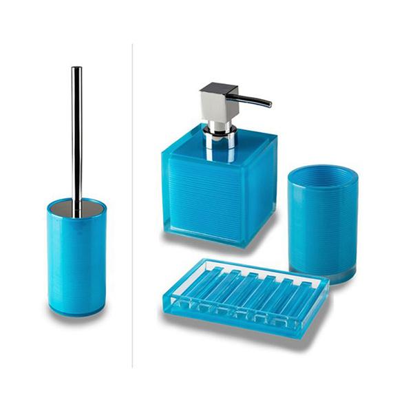 Set Accessori Bagno Tilda.Cipi Billy Set Bagno Da Appoggio Blue Therapy4home